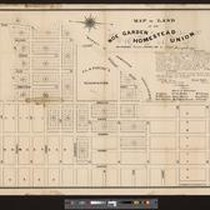 Map of land of the Noe Garden Homestead Union, San Francisco: surveyed ...