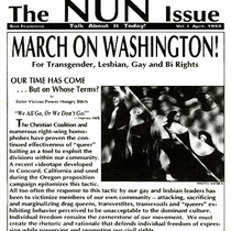 The NUN Issue, newsletter of The Sisters of Perpetual Indulgence, Inc.