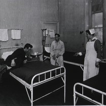 Surgical ward, an average size room, Hotel Metropole