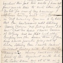 Benjamin Silliman II, letter, 1880 Sept. 19, to Faith W. Hubbard (née ...