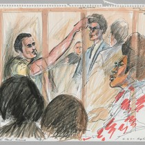 9/11/75 Witness Urbano Rubiaco [San Quentin Guard who survived having throat cut], ...
