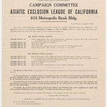 Campaign Committee of Asiatic Exclusion League of California