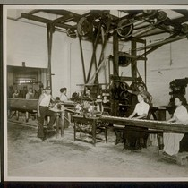 Soap Wrapping Room, Bayonne Refinery, showing automatic machine for wrapping soap. This ...