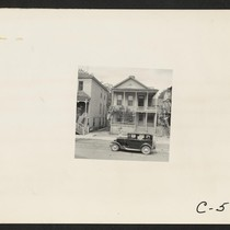 Sacramento, Calif.--Type of home in the Japanese [section] of town. Photograph taken ...