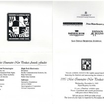 1995 Most Innovative New Products Awards: invitation