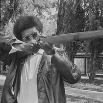 Black Panther with his gun, Marin City, CA, #52 from A Photographic ...