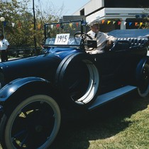 1915 Model T, 70th anniversary celebration, Citrus College, 1915-1985