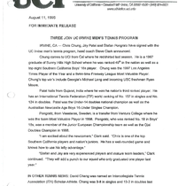 1997-1998 News releases