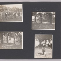 [Album page with snapshots of people at the Beresford Country Club.]