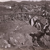 1003. Placer Mining in Columbia Gulch, Tuolumne County. The Mine