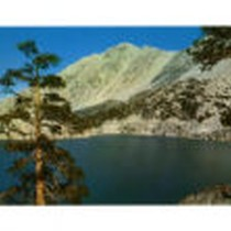 Big Pine Second Lake, Big Pine Canyon, California