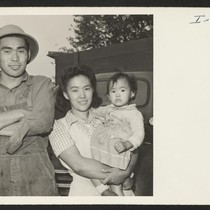 Shibo Hayashi, his wife Kimiye, and daughter Kuye formerly of Rohwer and ...