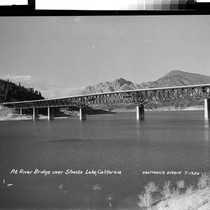 Pit River Bridge over Shasta Lake, Calif