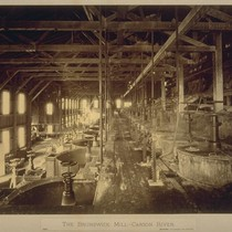The Brunswick Mill - Carson River (Interior View)