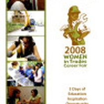 2008 Women in Trades Career Fair brochure