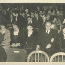 Mooney family hears trial date set. San Francisco, California. Left to right ...