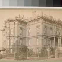 Residence of Governor Stanford, S. F. [San Francisco]