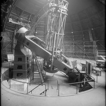 100-inch reflecting telescope tube, Mount Wilson Observatory
