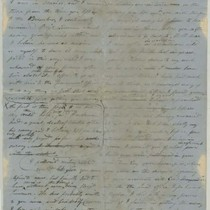 Conrad Wise Chapman's undated drafts of letters