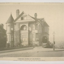Residence of Henry T. Scott, S. W. Cor. Clay and Laguna Streets, ...