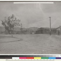 11th [Eleventh] & Harrison. N.E. [Temporary stuctures.] [Photo from collection of Jesse ...