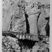 Adams auxillary flume, Inyo County (Image 58)