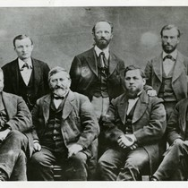 1873 First board of trustees, San Jose Library