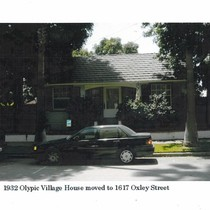 1932 Olympic Village House Moved to 1617 Oxley Street