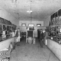 Interior of R. H. Seale Grocery. [graphic]