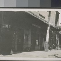 China alley. Fresno, Cal. 1910. [Alley in Chinese commercial district.]