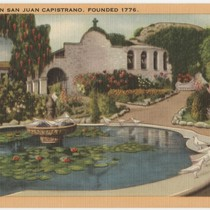 1081 Mission San Juan Capistrano, Founded 1776
