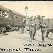 "Hospital Train with Hiram Miller and ""Rug"" Ruggles"