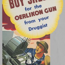 Buy shells for the Oerlikon Gun from your Druggist