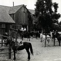 Meadow Club Stables, Fairfax, Marin County, California, circa 1950 [photograph]
