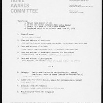 Chiat residence, South Pasadena, ca.1968-1970, design awards documents