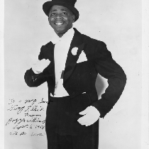 "Jazzbo Williams ""Man with laughs"" publicity still"