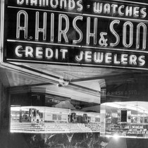 A.Hirsh & Son Credit Jewelwers storefront
