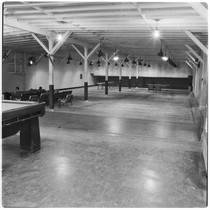 Camp Matthews, Bowling Alley, (interior), Building No.353