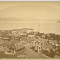 Bay View from Telegraph Hill. S. F. [San Francisco]