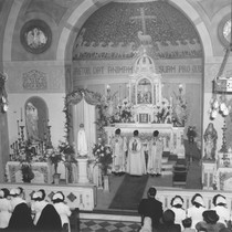 High Mass in St. Joseph's Hospital Chapel