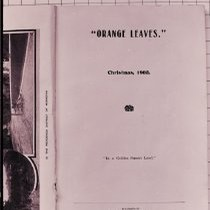 """0range Leaves"" Title Page"