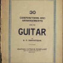 30 Compositions and arrangements for the guitar