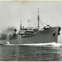 SS Mission Purisima, a T-2 tanker built at Marinship, Marin County, during ...