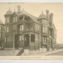 Residence of Mr. Charles Josselyn, S. W. Cor. Gough and Sacramento Sts., ...