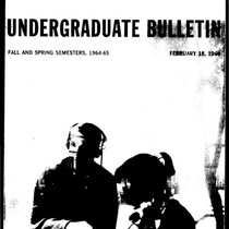 UC San Diego General Catalog, 1964-1965