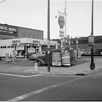 [1100 Howard at 7th Street, Shell [Gas Station], Sheet Metal Works]