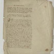 Inventory of the estate of Thomas Chapman and other documents