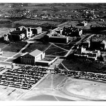 Aerial view of UCLA, 1936