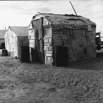 Migratory Mexican field worker's home, March, 1937