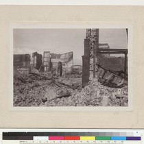 19. Along Market St. [Ruins and rubble.]
